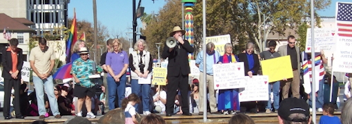 Invocation at November 17, 2008 Marriage Equality Rally